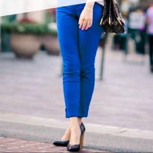 Vintage America Weekend Crop Blue Jeans